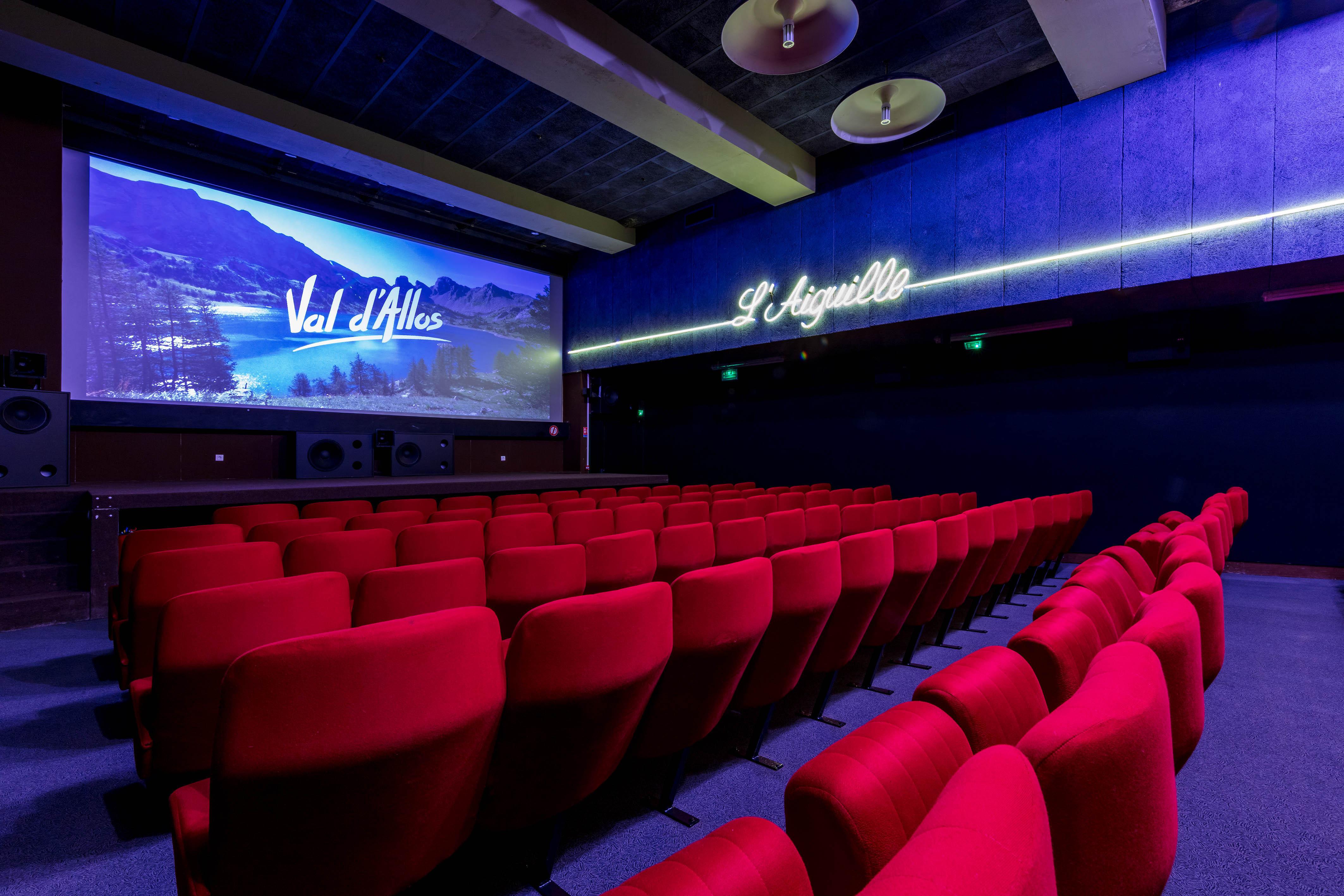 Salle Cinéma L'Aiguille